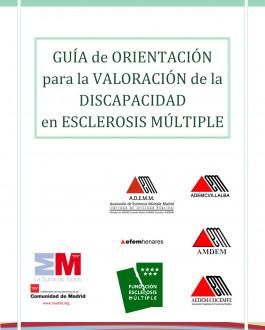 Portada Guía de orientación para la valoración de la discapacidad en Esclerosis Múltiple