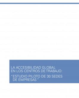 Portada La accesibilidad global en los centros de trabajo