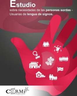 Portada Estudio sobre las necesidades de las personas sordas usuarias de lengua de signos