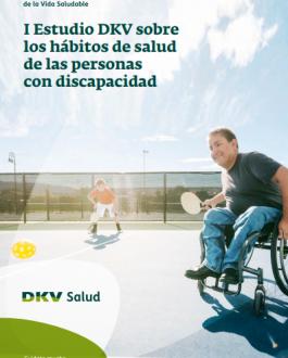 Portada I Estudio DKV sobre los hábitos de salud de las personas con discapacidad