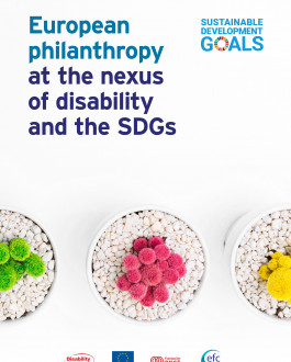 Portada European philanthropy at the nexus of disability and the SDGs