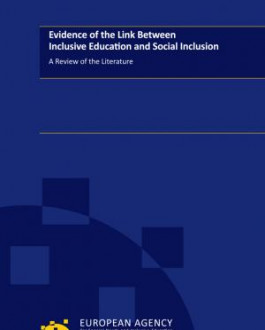 Portada Evidence of the Link Between Inclusive Education and Social Inclusion A Review of the Literature