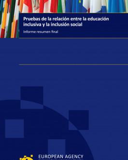 Portada Pruebas de la relación entre la educación inclusiva y la inclusión social informe resumen final