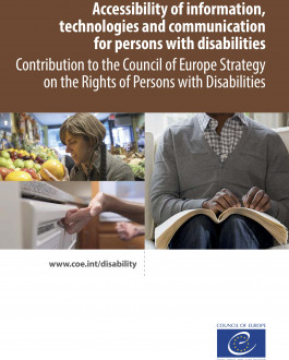 Portada Accessibility of information, technologies and communication for persons with disabilities Contribution to the Council of Europe Strategy on the Rights of Persons with Disabilities