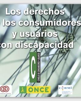 folleto Los derechos de los consumidores y usuarios con discapacidad (dvd)