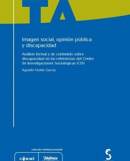 Portada del Libro Imagen social, opinión pública y discapacidad