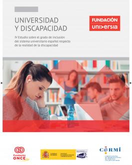 IV Estudio sobre el grado de inclusión del sistema universitario español respecto de la realidad de la discapacidad