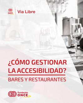 Portada ¿Cómo gestionar la accesibilidad? Bares y Restaurantes