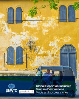 Portada del Libro Global Report on Inclusive Tourism Destinations. Model and success stories