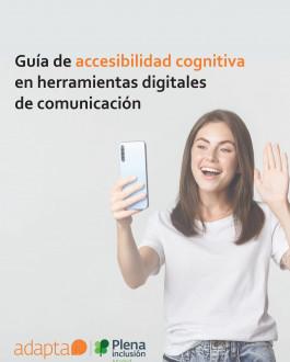 Portada Guía de accesibilidad cognitiva en herramientas digitales de comunicación