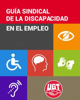 Portada Guía sindical de la discapacidad en el empleo