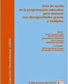Portada uía de ayudas en la programación educativa para alumnos con discapacidades graves y múltiples