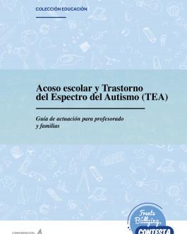 Portada del Libro Acoso escolar y Trastorno del Espectro del Autismo (TEA)