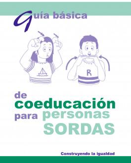 Portada del Libro Guía básica de coeducación para personas sordas