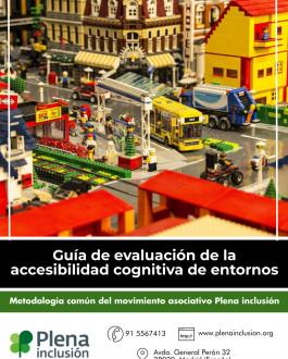 Portada Guía de evaluación de la accesibilidad cognitiva de entornos