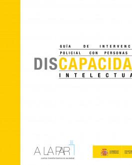 Portada Guía de intervención policial con personas con discapacidad intelectual