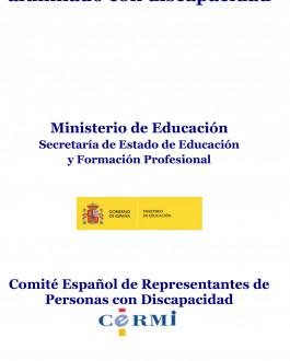 Portada Guía de recursos para alumnado con discapacidad