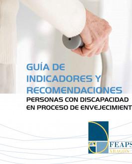 Portada del Libro Guía de indicadores y recomendaciones personas con discapacidad