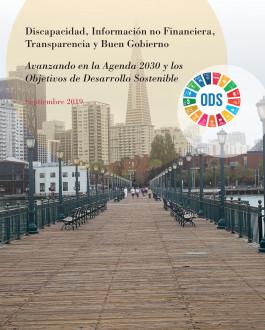 Portada Discapacidad, información no financiera, transparencia y buen gobierno. Avanzando en la agenda 2030 y los Objetivos de Desarrollo Sostenible