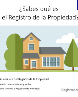Portada Guía básica del Registro de la Propiedad (Lectura Fácil)