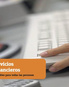 Guía Servicios financieros accesibles para todas las personas