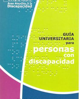 Portada Guía universitaria para personas con discapacidad