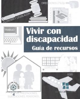 Portada del Libro Vivir con Discapacidad. Guía de Recursos