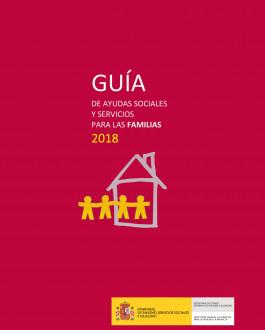 Portada Guía de ayudas sociales y servicios para las familias 2018