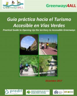 Portada Guía práctica hacia el Turismo Accesible en Vías Verdes