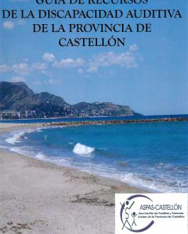 Portada Guía de recursos de la discapacidad auditiva de la provincia de Castellón