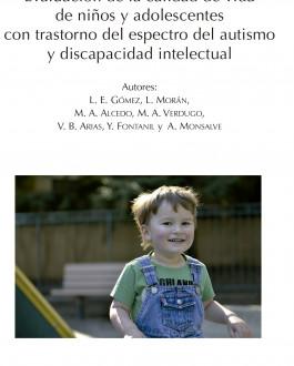 Portada del Libro Escala KidsLife-TEA: Evaluación de la calidad de vida de niños y adolescentes con trastorno del espectro del autismo y discapacidad intelectual