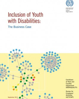 Portada del libro Inclusion of Youth with Disabilities: The Business Case