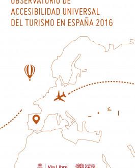 Portada Observatorio de accesibilidad universal del turismo en España 2016