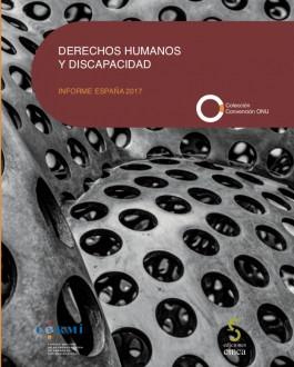 Portada del Libro Derechos humanos y discapacidad: informe España 2017