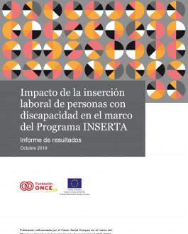 Portada Impacto de la inserción laboral de personas con discapacidad en el marco del Programa INSERTA. Informe de resultados Octubre 2019