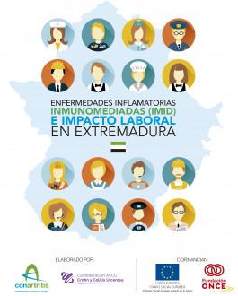 Portada nfermedades inflamatorias inmunomediadas (IMID) e impacto laboral en Extremadura
