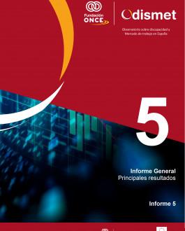 Portada Observatorio sobre discapacidad y Mercado de trabajo en España. Informe 5