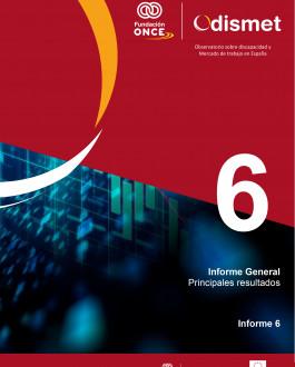 Portada Observatorio sobre discapacidad y Mercado de trabajo en España. Informe 6