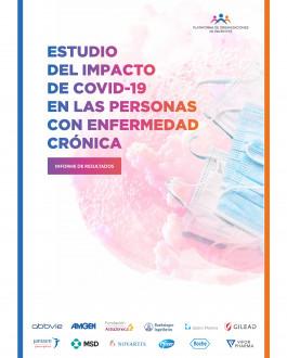 Portada Estudio del impacto de Covid-19 en las personas con enfermedad crónica