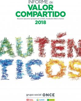 Portada Informe de valor compartido 2018 Grupo Social ONCE