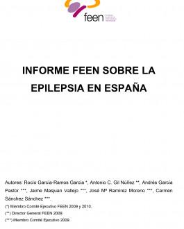 Portada Informe FEEN sobre la Epilepsia en España