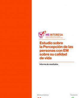 portada Estudio sobre la percepción de las personas con EM sobre su calidad de vida