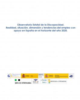 Portada del Libro Observatorio Estatal de la Discapacidad