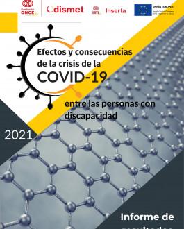 Portada Efectos y consecuencias de la crisis de la COVID-19 entre las personas con discapacidad (2021)