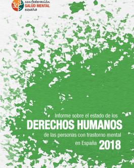 Portada Informe sobre el estado de los derechos humanos de las personas con trastorno mental en España 2018