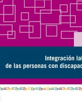 portada guia Integración laboral de las personas con discapacidad