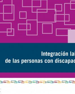 portada La integración social de las personas con discapacidad
