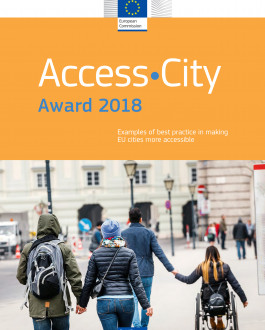 Portada Access City Award 2018. Examples of best practice in making EU cities more accessible