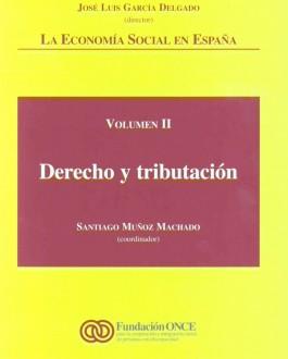 Portada del libro La economía social en España: derecho y tributación