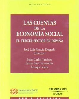 Portada del libro las cuentas de la economía social